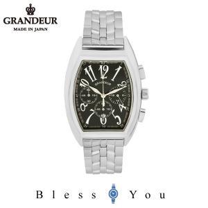 グランドール メンズ 腕時計 クロノグラフ 日本製 GRANDEUR JGR003W2 blessyou