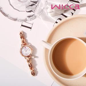 ソーラー 腕時計 レディース ウィッカ 2019年10月 有村架純 モデル KL0-561-15 38,0 blessyou