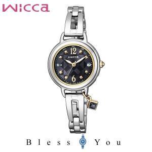 シチズン ソーラー電波 腕時計 レディース ウィッカ KL0-910-51 34,0 blessyou