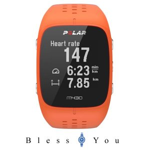 ポラール 心拍計 ハートレートモニター GPS ランニングウォッチ M430 オレンジ POLAR M430 90064409 29,8|blessyou