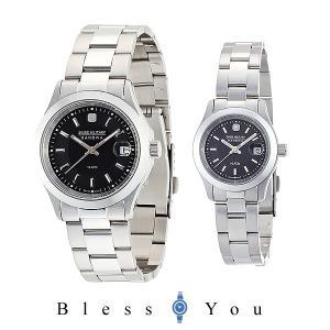 スイスミリタリー ペアウォッチ  ブラック  エレガントプレミアム  ML300+ML308 腕時計|blessyou