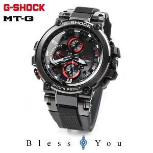 カシオ腕時計 電波ソーラー メンズ Gショック 2018年6月 MTG-B1000B-1AJF 100000|blessyou