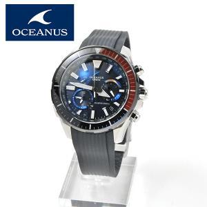 あすつく 日本製 本格ダイバーウォッチ ISO規格   電波ソーラー カシオ 電波ソーラー 腕時計 メンズ オシアナス OCW-P2000C-2AJF 220,0 blessyou