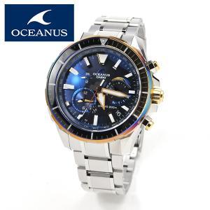 日本製 本格ダイバーウォッチ ISO規格 CASIO OCEANUS カシオ ソーラー電波 腕時計 メンズ オシアナス  OCW-P2000D-2AJF 250,0 blessyou