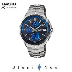 P10倍+14% カシオ ソーラー電波 腕時計 メンズ オシアナス 2019年6月新作 MANTA OCW-S5000E-1AJF 180000|blessyou