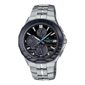 CASIO OCEANUS カシオ ソーラー電波 腕時計 メンズ オシアナス 2021年6月 OCW-S5000ME-1AJF 250,0|blessyou