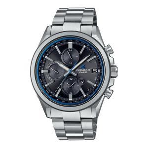 メンズ腕時計 オシアナス カシオ 電波ソーラー メンズ  2021年5月 OCW-T4000-1AJF 100000|blessyou