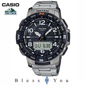 CASIO PROTREK カシオ 腕時計 メンズ プロトレック チタンバンド 2020年3月新作 PRT-B50T-7JF 40,0|blessyou
