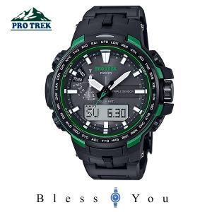 P10倍+14% カシオ 電波ソーラー 腕時計 メンズ プロトレック  PRW-6100FC-1JF 82000|blessyou