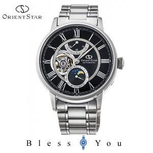 ポイント最大27倍 オリエントスター 機械式 腕時計 メンズ クラシック メカニカル ムーンフェイズ RK-AM0004B 170,0|blessyou