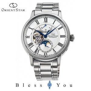 ポイント最大27倍 オリエントスター 機械式 腕時計 メンズ クラシック メカニカル ムーンフェイズ RK-AM0005S 170,0|blessyou