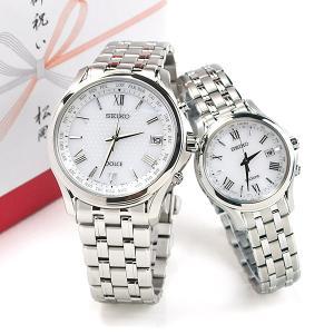 ポイント最大27倍 セイコーソーラー電波  腕時計 ペアウォッチ ドルチェ&エクセリーヌ SADZ201-SWCW161 240,0 10n|blessyou