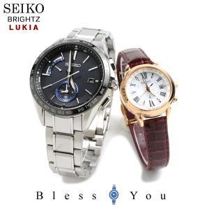 セイコー 腕時計 電波ソーラー ブライツ&ルキア ペアウォッチ SAGA235-SSQV022 172,0 blessyou