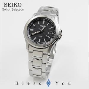 セイコー ソーラー 腕時計 SBPN067 ブラック...