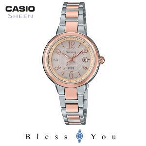 カシオ シーン タフソーラ― レディース 腕時計 2017年10月新作  SHS-4503SPG-9AJF 28,0 blessyou