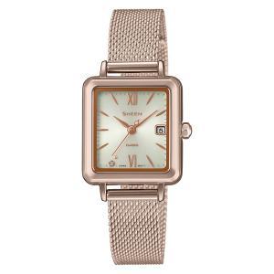 CASIO SHEEN カシオ ソーラー 腕時計 レディース シーン 2021年1月 SHS-D400CGM-4AJF 26,0|blessyou