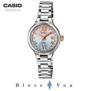 カシオ 電波ソーラー シーン レディース 腕時計 SHW-1700D-7AJF 43,0 blessyou