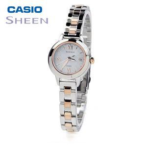 CASIO SHEEN カシオ ソーラー電波 腕時計 レディース シーン 2019年11月新作 SHW-5200DSG-7AJF 39,0 blessyou