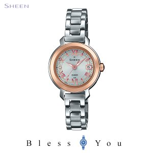 CASIO SHEEN カシオ ソーラー電波 腕時計 レディース シーン 2020年6月新作 SHW-5300BSG-7AJF 33,0 blessyou