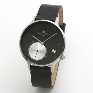 サルバトーレマーラ メンズ 腕時計 SALVATORE MARRA SM20105-SSBK 28.0|blessyou