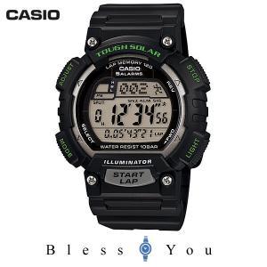 P10倍+14% カシオ タフソーラー 腕時計 メンズ スポーツギア STL-S100H-1AJF 5500|blessyou