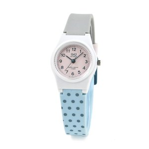 国内正規保証 ネコポス 配送 レディース キッズ ジュニア  腕時計 シチズン Q&Q チープシチズン 防水 ポイント消化 軽量 10気圧防水 VP47J034|blessyou