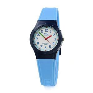 国内正規保証 ネコポス 配送 レディース キッズ ジュニア  腕時計 シチズン Q&Q チープシチズン 防水 ポイント消化 軽量 10気圧防水 VR75J003|blessyou