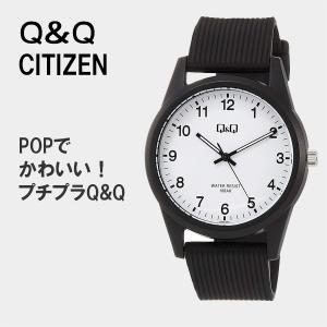 Q&Q シチズン 腕時計 レディース 安い メンズ 防水  ネコポス配送 VS40-001 10気圧防水 受験用 時計|blessyou