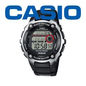 カシオ 電波 メンズ 腕時計 スポーツギア ウェーブセプター 2021年8月 WV-200R-1AJF 7000 blessyou
