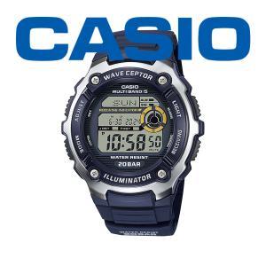 カシオ 電波 メンズ 腕時計 スポーツギア ウェーブセプター 2021年8月 WV-200R-2AJF 7000 blessyou