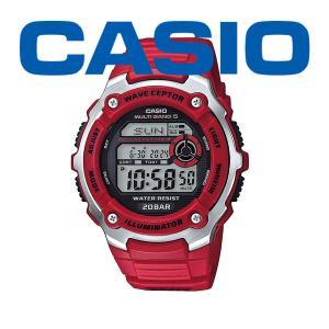 カシオ 電波 メンズ 腕時計 スポーツギア ウェーブセプター 2021年8月 WV-200R-4AJF 7000 blessyou