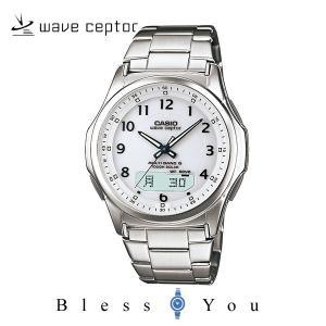 カシオ 電波ソーラー 腕時計 メンズ ウェーブセ...の商品画像