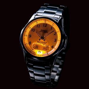 カシオ 電波ソーラー 腕時計 メンズ ウェーブ...の詳細画像3