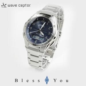 カシオ 電波ソーラー 腕時計 メンズ ウェーブセプター WVA-M640D-2A2JF  ギフト|blessyou
