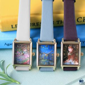 腕時計 レディース おしゃれ アート オリジナル絵画ウォッチ  |ブルーブルーエ PayPayモール店