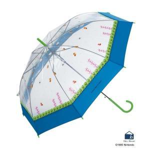 雨傘 ビニール おしゃれ スーパーマリオブラザーズ ブルーブルーエ PayPayモール店