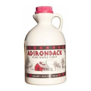米国・ニューヨーク州北部で採取されたカエデ糖液。熱いホットケーキ・パンケーキに最適。プラスティック・...