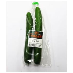 【フルヤの有機野菜】有機きゅうり 2本 冷蔵|blife