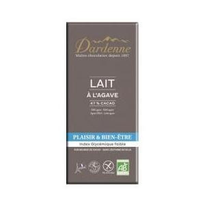 ダーデン 有機アガベチョコレート ミルク カカオ46% 100gx15(1ケース)