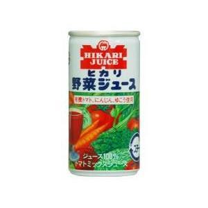 有機野菜使用・野菜ジュース  190 ml ×30本 ヒカリ|blife