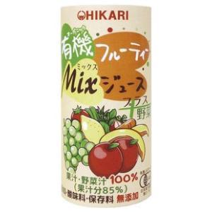 有機フルーティ−Mixジュース プラス野菜 195g 光食品株式会社 blife