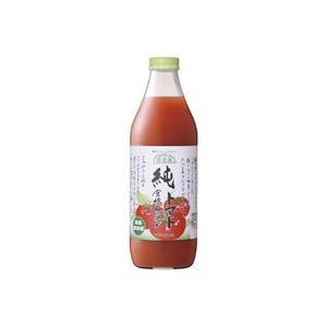 トマトジュース 純トマト(食塩無添加) 1L マルカイコーポレーション|blife
