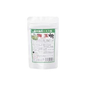 龍神 梅肉エキス粒 梅玉 40g(約200粒) 有限会社龍神自然食品センター|blife