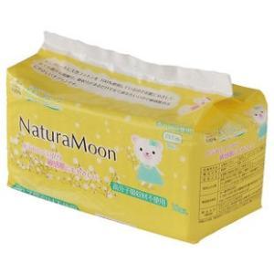 ナチュラムーン 生理用ナプキン(多い日の昼用羽なし) 18個入 日本グリーンパックス株式会社 blife