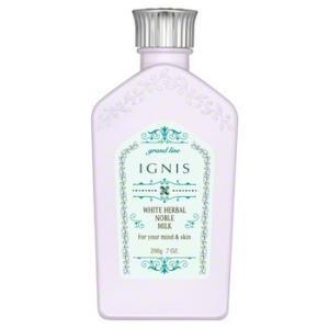 IGNISイグニス ホワイトハーバル ノーブル ミルク〈薬用美白乳液〉|blili