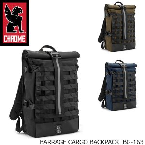 CHROME クローム バックパック HERITAGE BARRAGE CARGO BG-163 22-34L BG163|blissshop