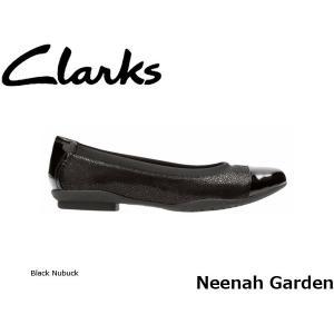 CLARKS クラークス パンプス レディース Neenah Garden 26128860 Black Nubuck CLA26128860 国内正規品|blissshop