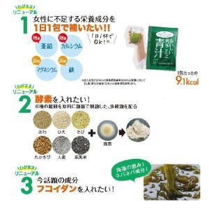 おいしい利尻こんぶ青汁 酵素配合 毎日の健康に 大麦若葉 桑の葉 はちみつ配合でまろやか抹茶風味 お得な3箱セット【送料無料】 blondie-blond 05