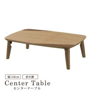 センターテーブル 120cm リビングテーブル ローテーブル テーブル 座卓 コーヒーテーブル  折脚 折れ脚 折りたたみ 収納 木製 モダン シンプル おしゃれ bloom-shinkan
