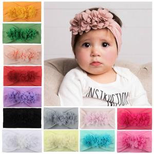 ベビーヘアバンド 花 ベビーリボン ベビーブリング 赤ちゃん 子供 入園式 髪飾り 新生児 ヘアアクセサリー インスタ映え おしゃれ かわいい 可愛い 頭囲:30-56cm bloommy